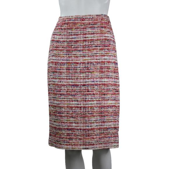 1e95d3d8c7b9 J. Crew Skirts | J Crew High Waist Tweed Stripe No 2 Pencil Skirt ...